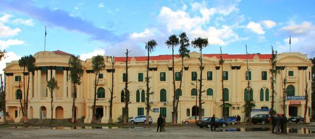 The Nepal Fine Arts Academy building before the recent earthquake (photo courtesy the Nepal Fine Arts Academy, via Facebook)