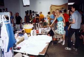 "Rob Pruitt, ""Rob Pruitt's Flea Market"", Gavin Brown's Enterprise, New York, 2000 (via Gavin Brown)"