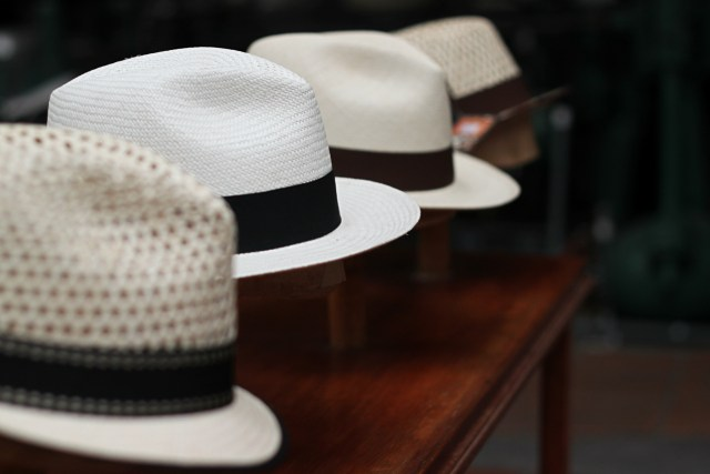 The Panama Hat (all photos by the author for Hyperallergic)
