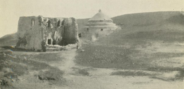 "Tomb of Mar Behnam and Mart Sarah as it appeared in the early 1920s. From Harry C. Luke, ""Mosul and its Minorities."""