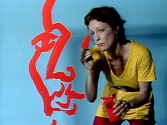 """Joan Jonas, still from """"Double Lunar Dogs"""" (1984), 24:04 min, color, sound (all images courtesy Electronic Arts Intermix [EAI], NY)"""