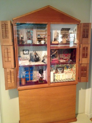 """Miriam Schapiro (with Sherry Brody), """"Dollhouse"""" (1973) (collection of the Smithsonian American Art Museum, photo by Bailey614, via Wikimedia Commons)"""
