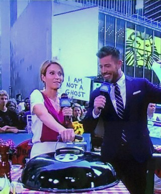 One of Christie Blizard's appearances on 'Good Morning America'