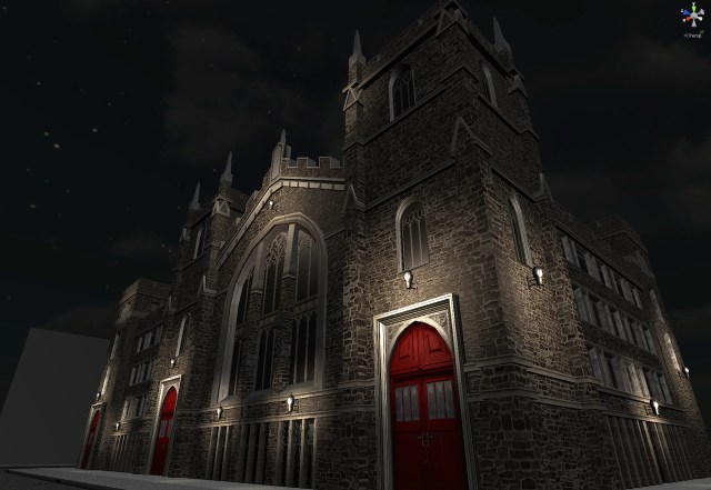The Abyssinian Baptist Church in 'Virtual Harlem'