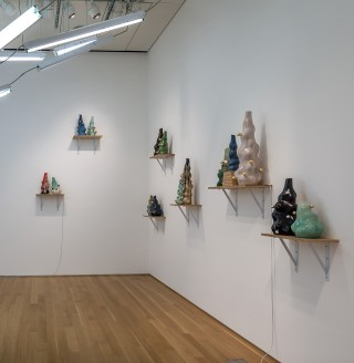 Installation view, 'Mark Cowardin: The Space Between' at the Nerman Museum of Contemporary Art (click to enlarge)