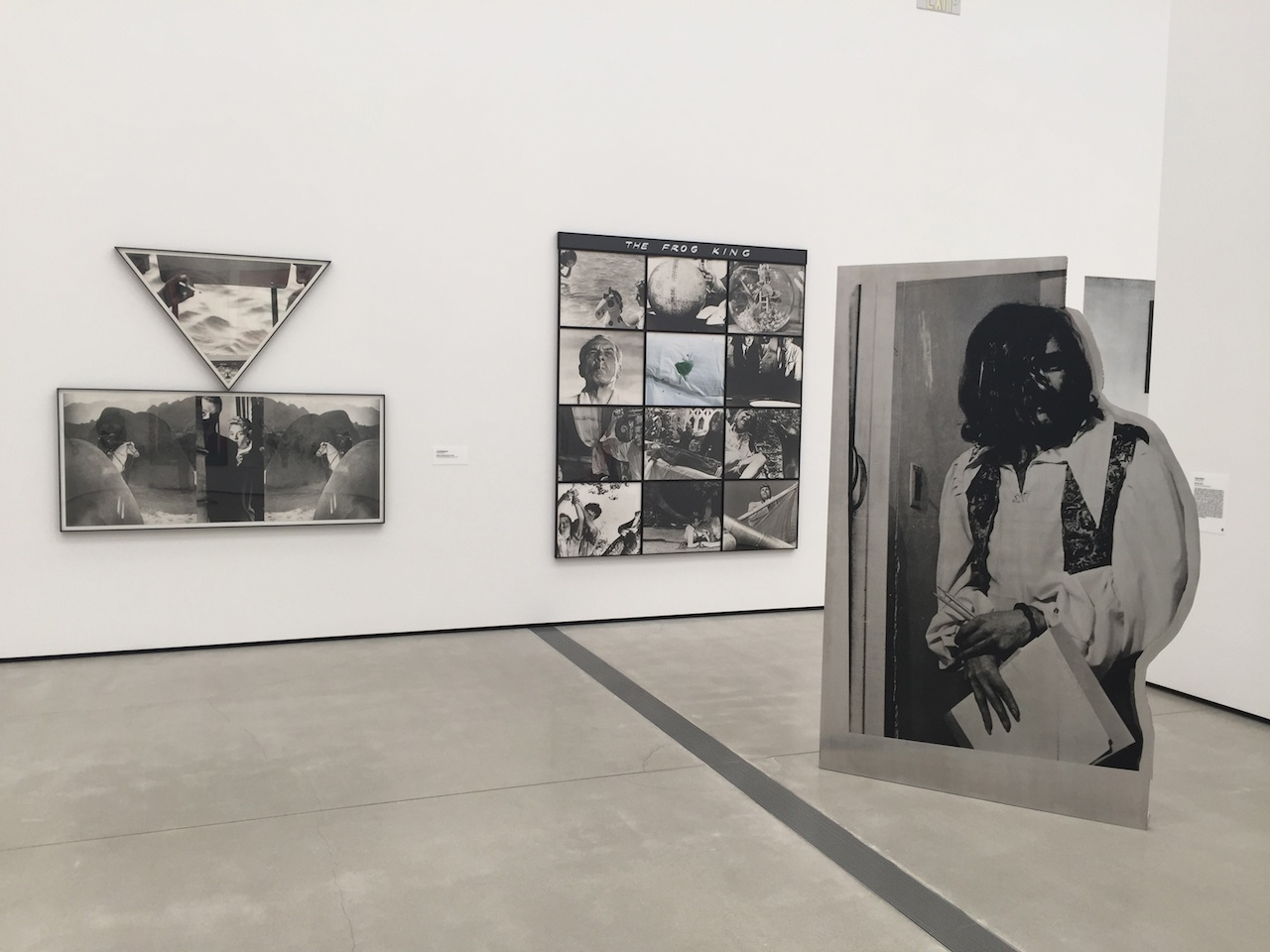 John Baldessari and Cady Noland.