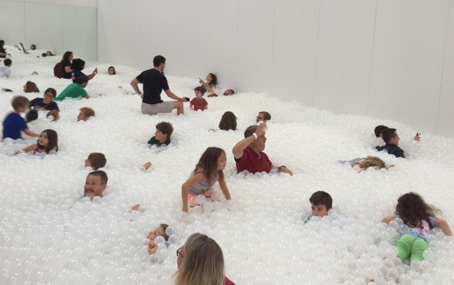 Snarkitecture's 'The BEACH' at the National Building Museum