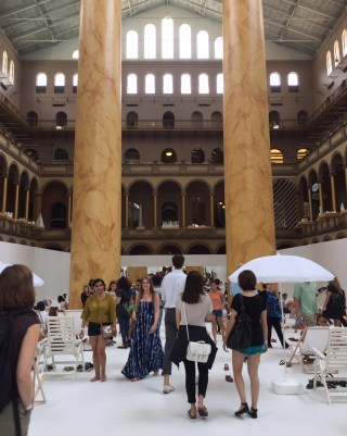 Snarkitecture's 'The BEACH' at the National Building Museum (click to enlarge)