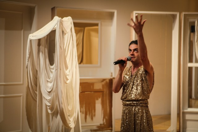 Jack Ferver performing in 'Chambre' at the New Museum (all photos by Jason Akira Somma, courtesy the New Museum)