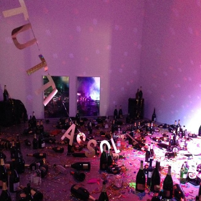 "Goldschmied and Chiari, ""Where shall we go dancing tonight?"" at the Museion Bozen-Bolzano (photo by @vodka_get/Instagram)"
