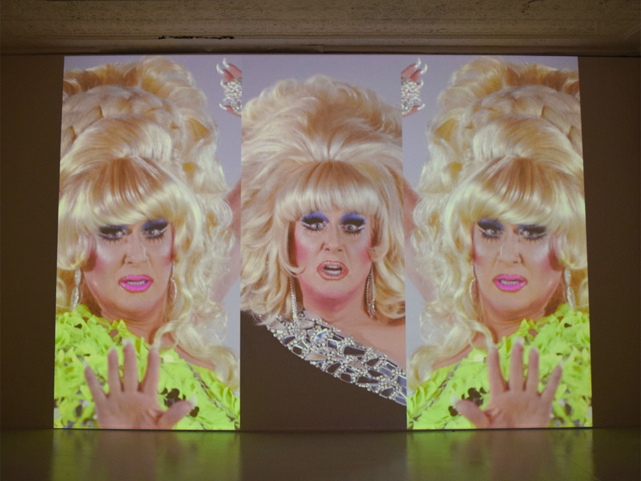 "Charles Atlas, ""Here She Is from the Waning of Justice"" (2015)"