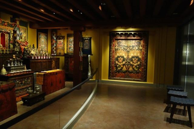 The Shrine Room at the Rubin Museum of Art