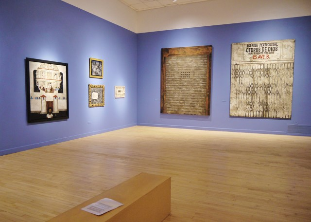 Installation view, 'Martin Wong: Human Instamatic' at the Bronx Museum of the Arts