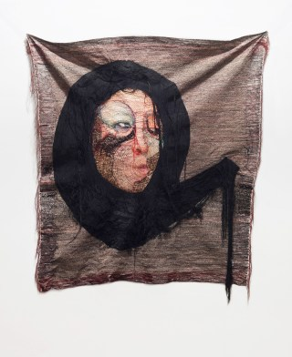 Rag face #63, 2013 (front)