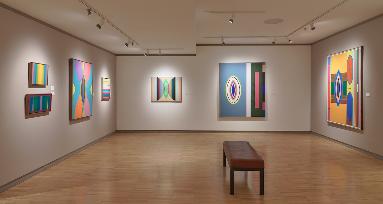 Installation view of 'John Ferren (1905–1970)' at David Findlay Jr. Gallery (photo by Jeffrey Sturges)
