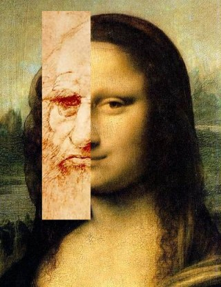 Some believe that the Mona Lisa is a self-portrait (image via Wikipedia) (click to enlarge)