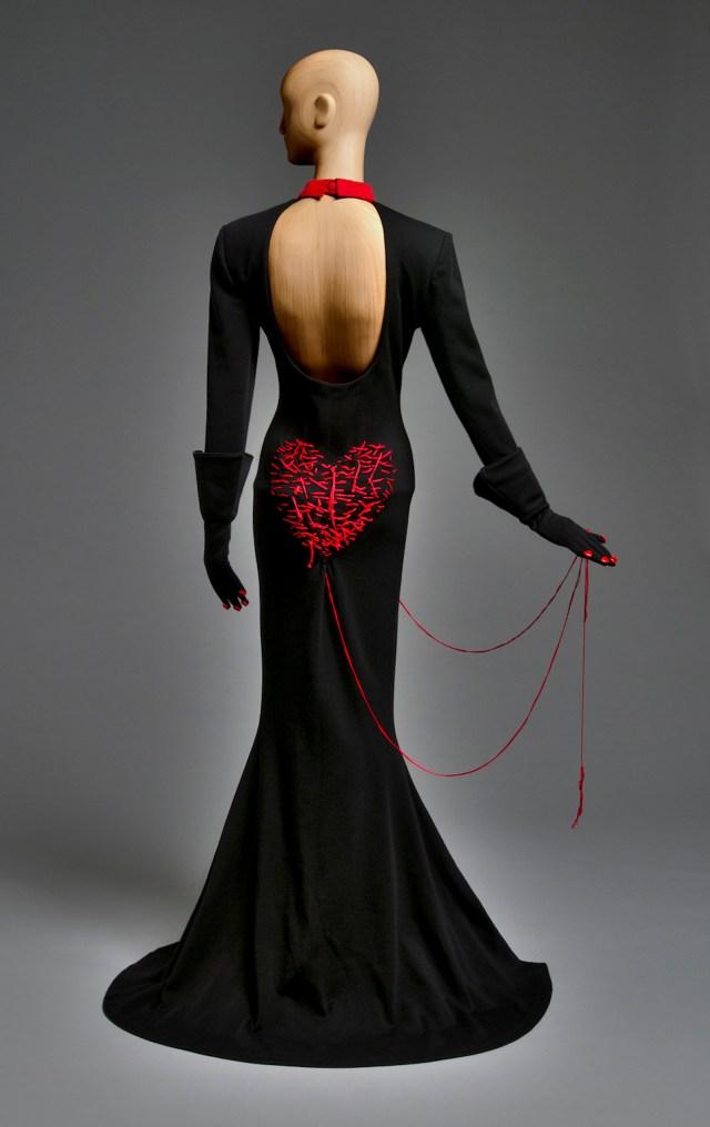 Heart Strings Dress Patrick Kelly, 1988 Courtesy of Philadelphia Museum of Art