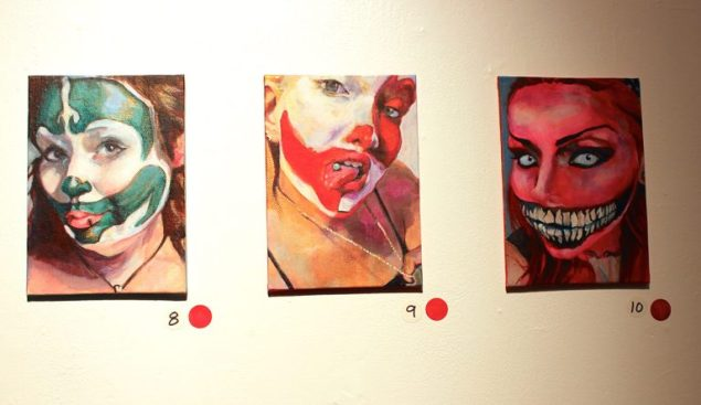 Juggalette themed art show