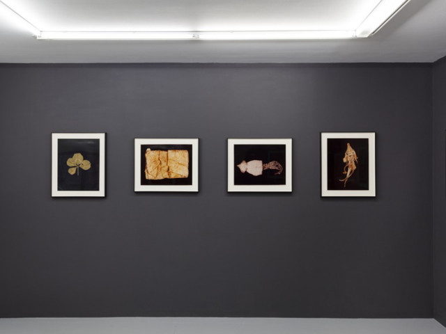 Installation view, upper level (Image courtesy of ROOM EAST and Estate of Hollis Frampton)