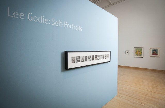 'Lee Godie: Self-Portraits' installation view