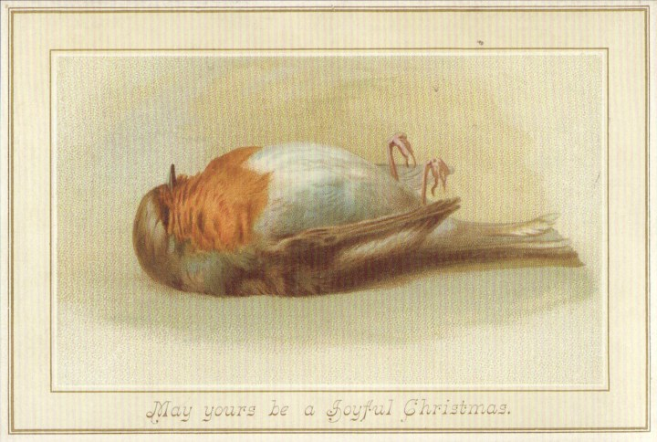 Why Are There Dead Birds On Victorian Christmas Cards