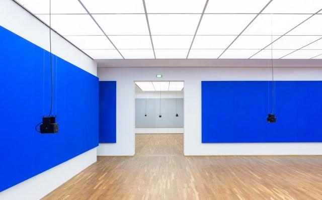 """Florian Hecker, """"Formulation"""" (2015), in the Preis der Nationalgalerie 2015"""