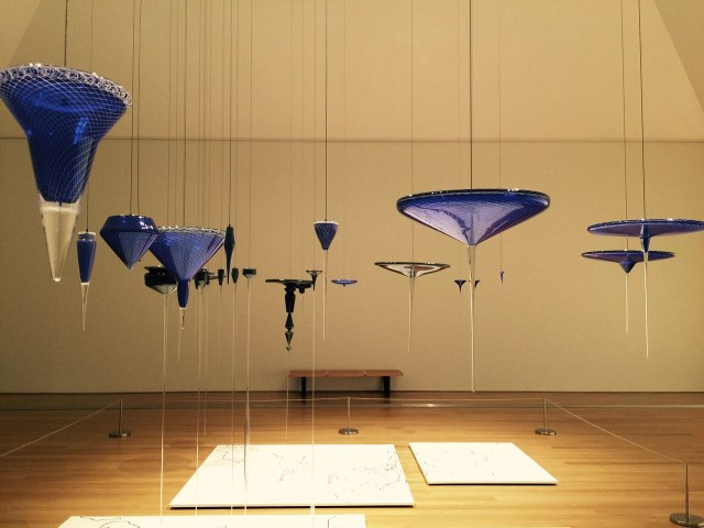 Installation view of 'Norwood Viviano: Global Cities' at the Grand Rapids Art Museum