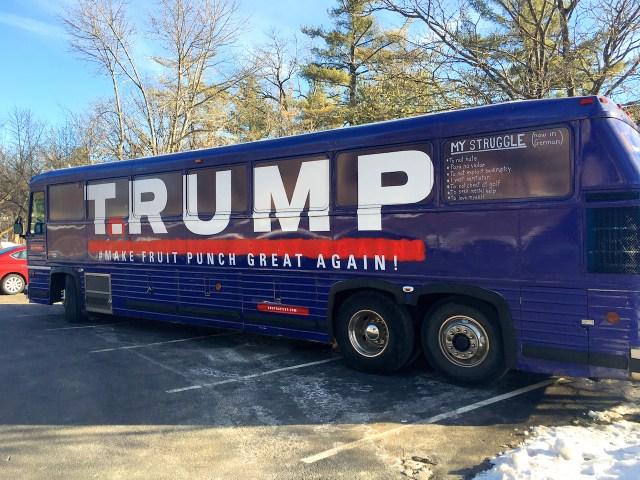 T.RUMP Bus in NH