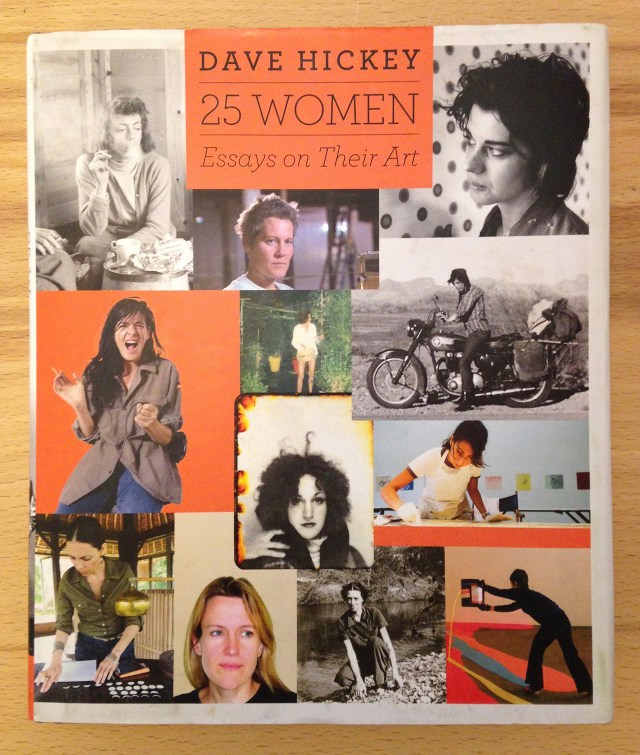 Dave Hickey, '25 Women: Essays on Their Art' (all photos by the author for Hyperallergic)