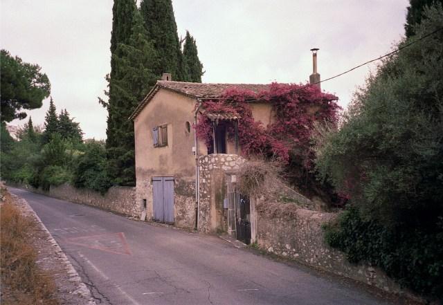 James Baldwin's house in Saint-Paul de Vence in 2009 (photo by Daniel Salomons, via Wikimedia Commons)