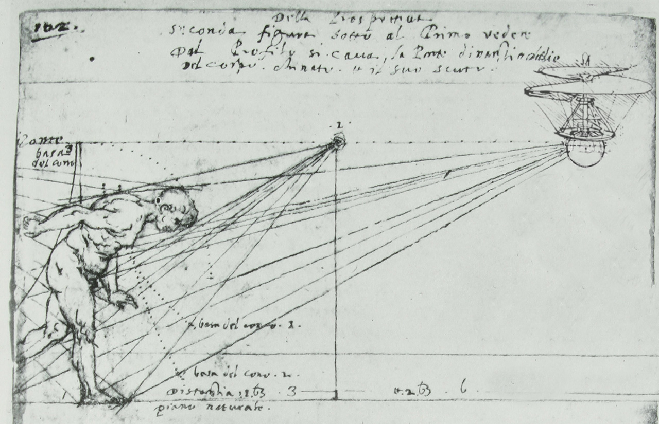 Newly Discovered Sketches Reveal Leonardo Da Vinci Designed The First Drone