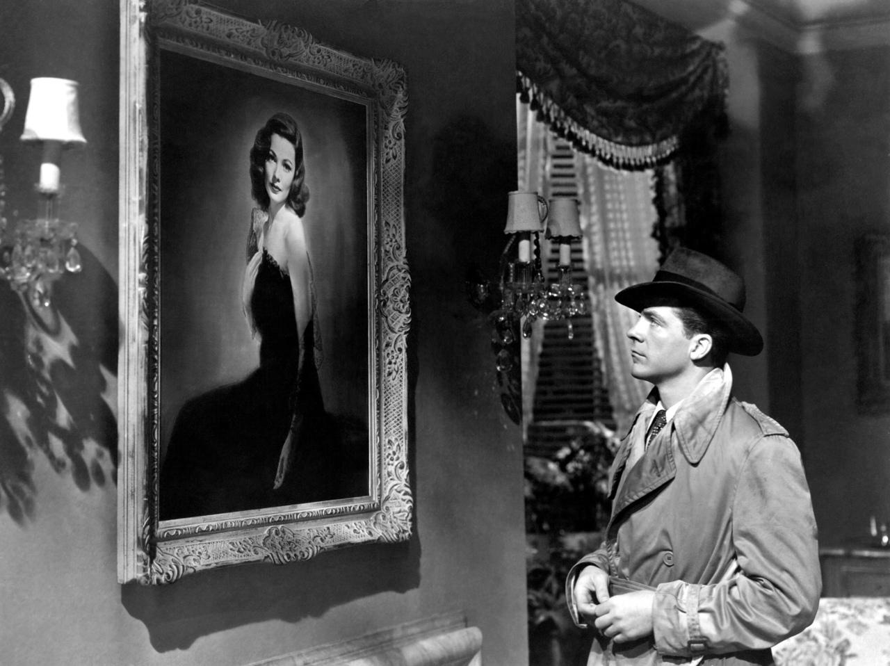 The Hypnotic Portrait Paintings Of Film Noir