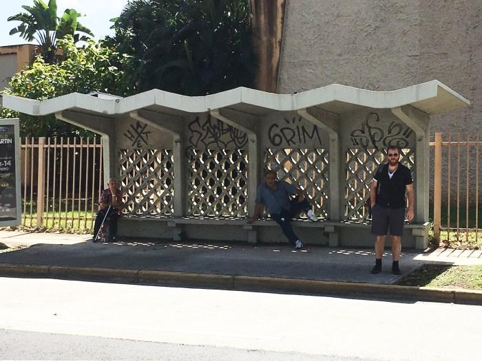 "Edra Soto, ""Photo Documentation (Cement Bus Stop, San Juan, Puerto Rico)"" (2016) (courtesy the artist)"