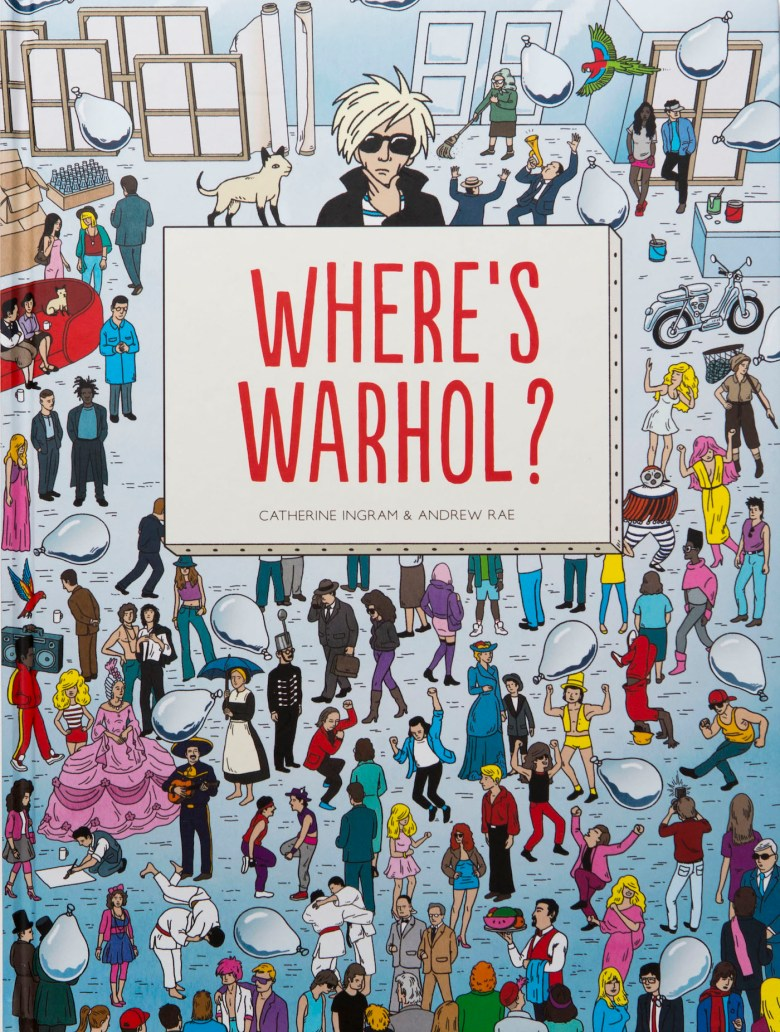 Where's Warhol_Cover Image