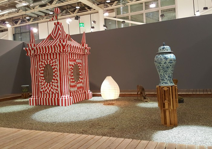 AA Bronson installation at Art Basel 2016, presented by Esther Schipper