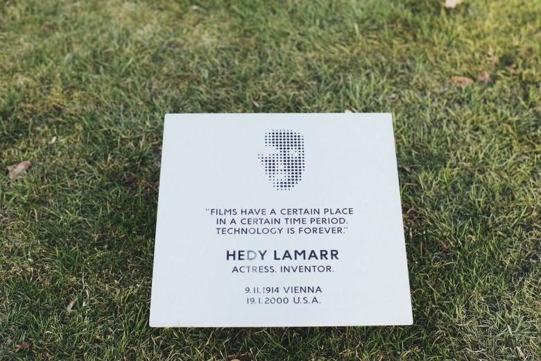 Detail from the proposed Hedy Lamarr Memorial; Photo: Iryna Yeroshko, courtesy of Fund Dreamer