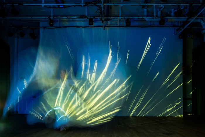 Time Lapse Dance, 'Piece for a Northern Sky,' choreographer/dancer: Jody Sperling (photo by Filip Wolak)