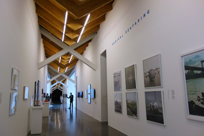 Installation view of 'Radical Seafaring' at the Parrish Art Museum
