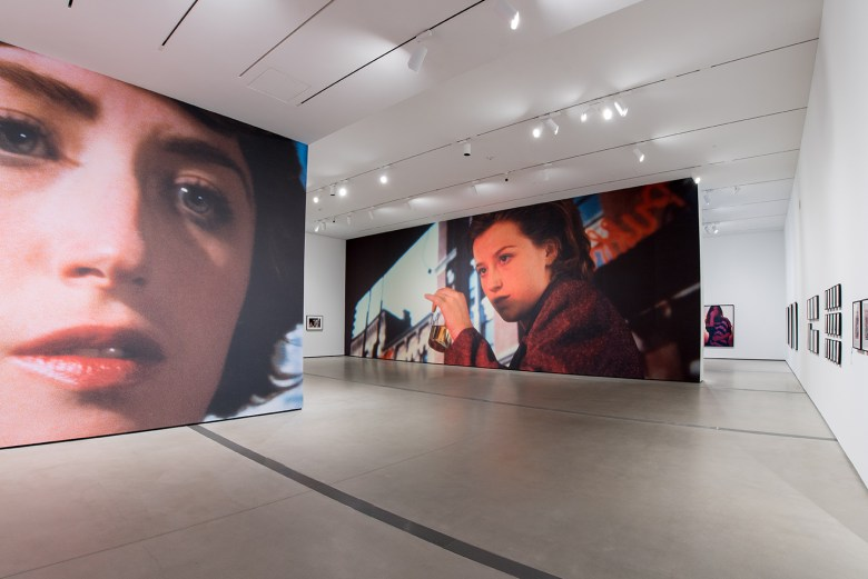 Installation Image of Cindy Sherman: Imitation of Life. Photo by Ben Gibbs, courtesy of The Broad