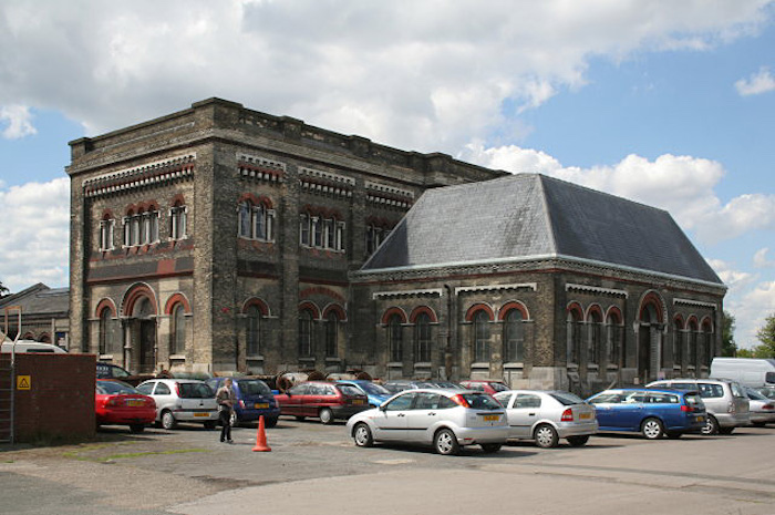 Crossness Pumping Station in 2009 photo via Wikipedia)