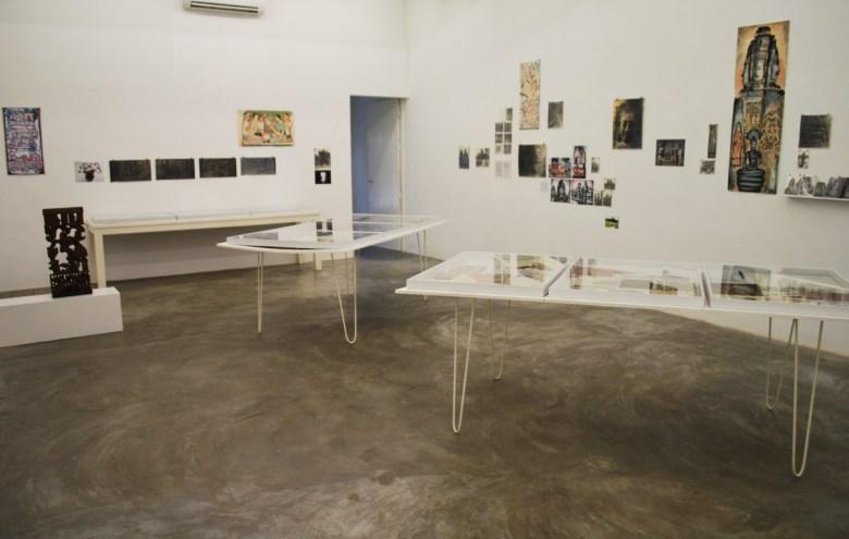 exhibition as you enter Sa Sa Bassac. Photographs all by the author.