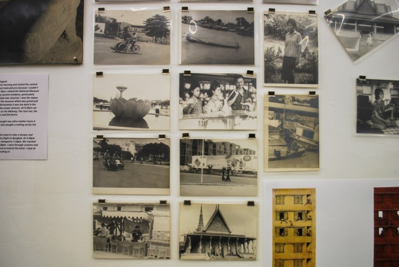 Part of Shui's collection of photographs from his visit to Phnom Penh.