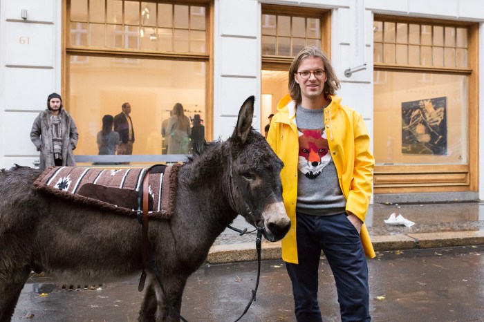 A legitimate press image provided by Magnus of Magnus Resch with a donkey (courtesy Magnus)