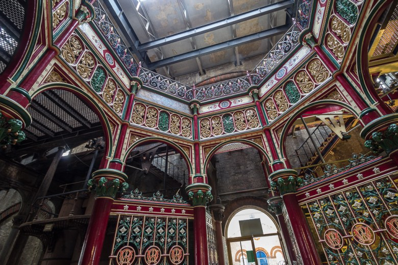 Interior of Crossness Pumping Station, Belvedere, Kent (photo © Christine Matthews, licensed for reuse under CC BY-SA 2.0 Licence)