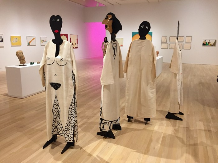 Work by Huguette Caland.