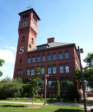 The University of Wisconsin-Stout in Menomonie, Wisconsin (photo by Bobak Ha'Eri/Wikimedia)