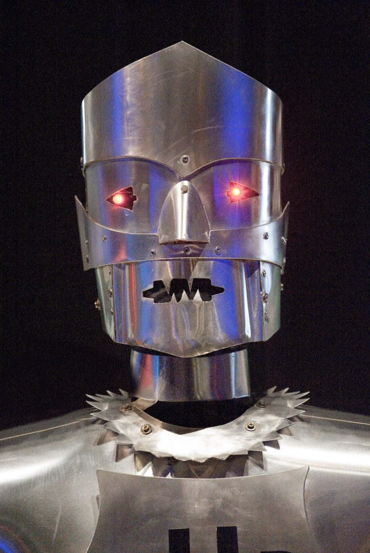 Replica of Eric the robot (courtesy Science Museum)