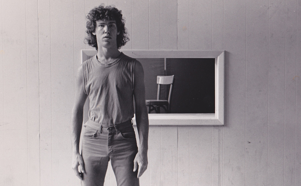 John Bernd, 1980s, by Dona Ann Macadams, (courtesy of John Bernd Archives)