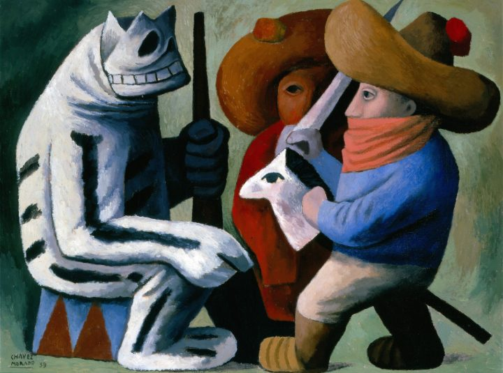 "José Chávez Morado, ""Carnival at Huejotzingo"" (1939), Phoenix Museum of Art (© Artists Rights Society, ARS, New York)"