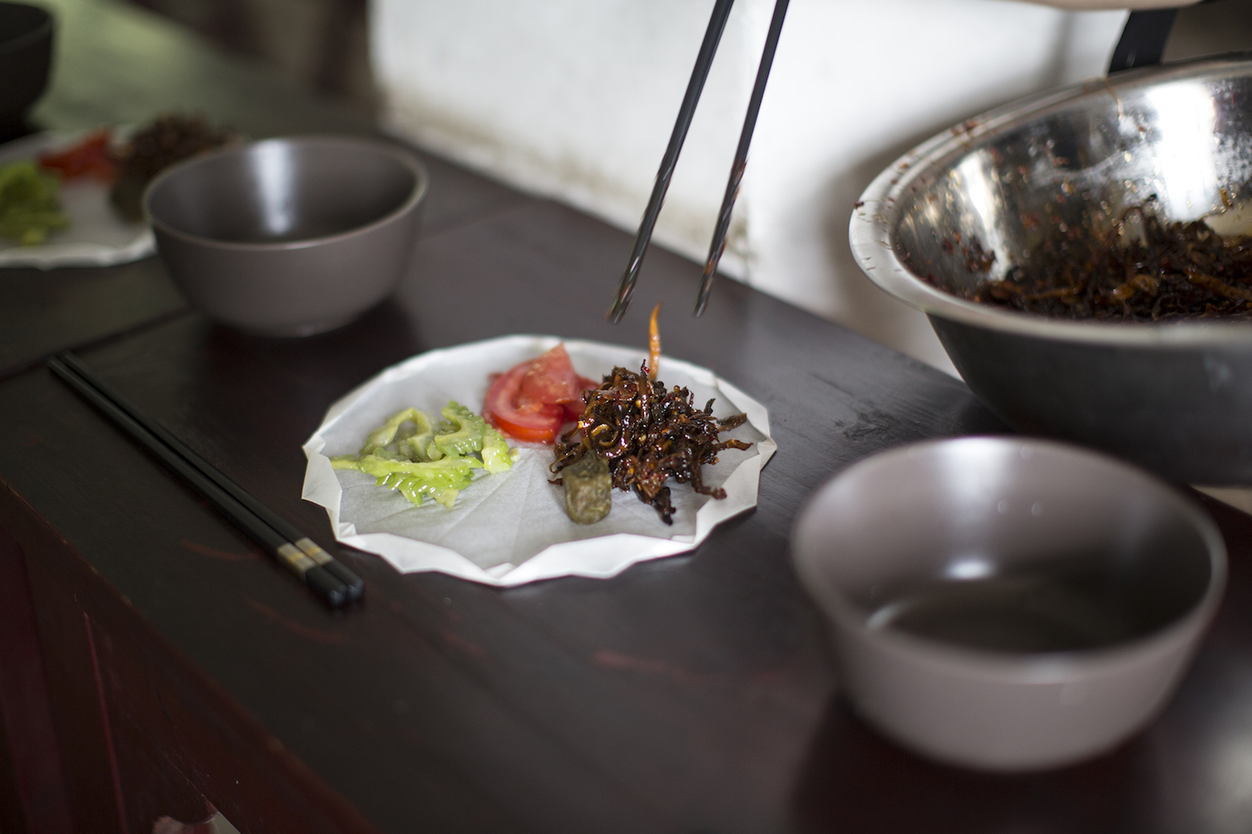 "Xie Fan, ""Buddhist Lunch,"" (2016)"